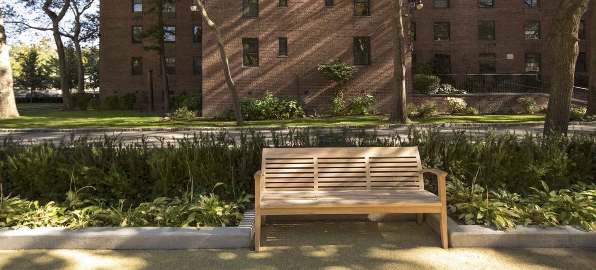 Riverton Square Outdoor Bench